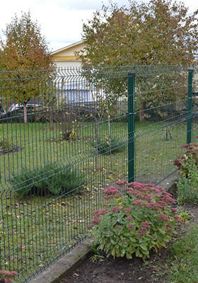 сетчатый забор 3D-1 проект-2