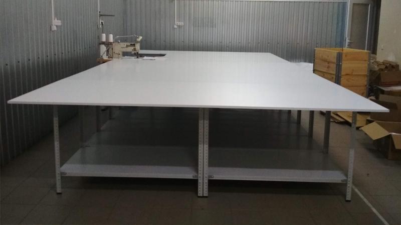 Раскройный стол 5х2.6 метра